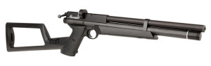 Marauder PCP Air Pistol (.22 cal) with stock attached